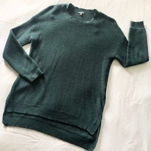 CHARLOTTE RUSSE Green Sweater | Size S